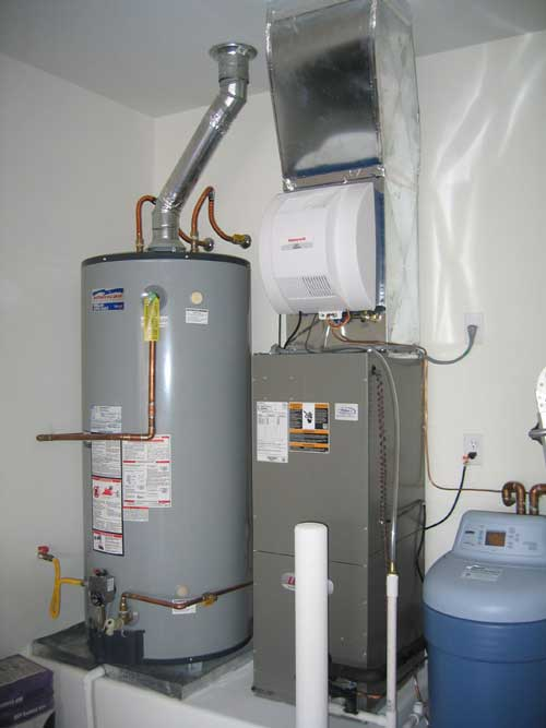 even with yearly maintenance and excellent care there will come a day when its more cost effective to install a new water heater than to repair your - New Water Heater