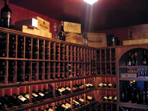 Phoenix AZ Wine Cellar Installation