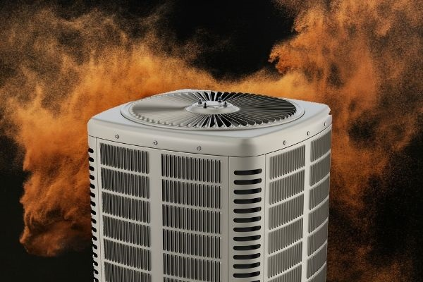 Dust With AC Unit