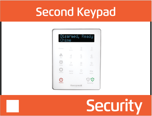 second keypad