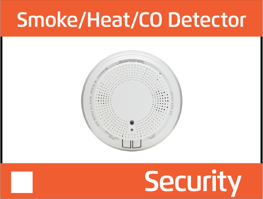 smoke heat co detector